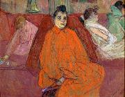 The Divan Henri de toulouse-lautrec